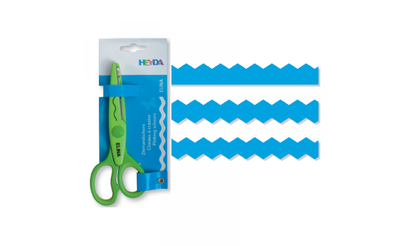 Heyda Decorative edge Craft Scissors,Carlo