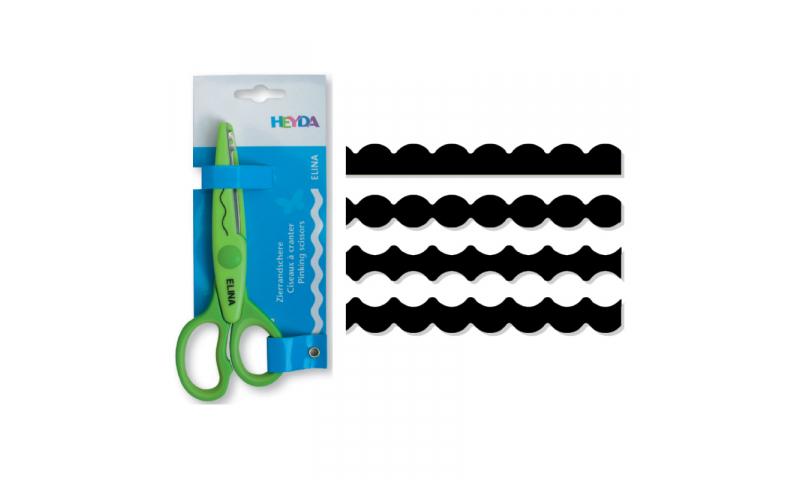 Heyda Decorative edge Craft Scissors, Mario