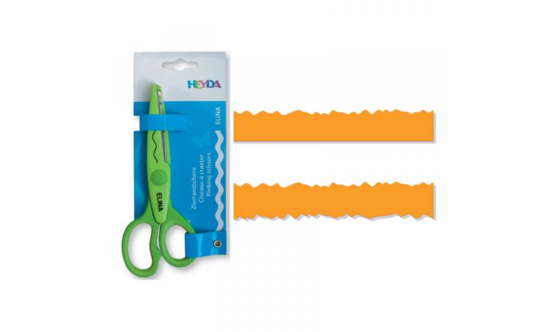 Heyda Decorative edge Craft Scissors, Nico
