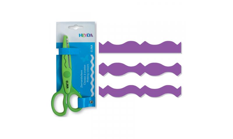 Heyda Decorative edge Craft Scissors, Mona
