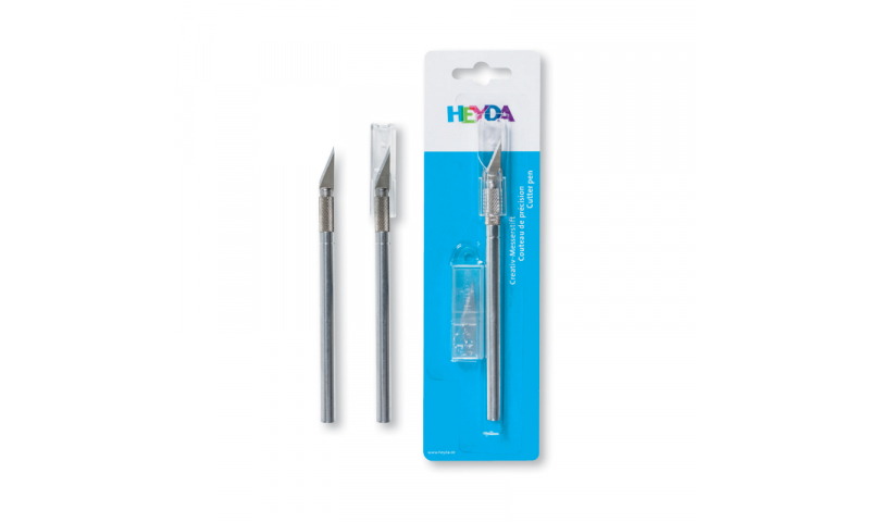 Heyda Strong Craft Knife 14.5cm with 2 replacement blades