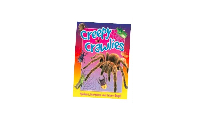 Creepy Crawlies Large Hardback Book, 309x 240mm, 32 Descriptive Pages: On Special Offer