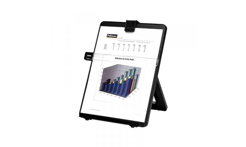 Fellowes A4 Copyholder with Line guide, Black (New Lower Price for 2021)