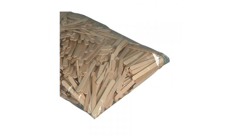 Heyda Wooden natural Lollipop Sticks, Bulk 1000