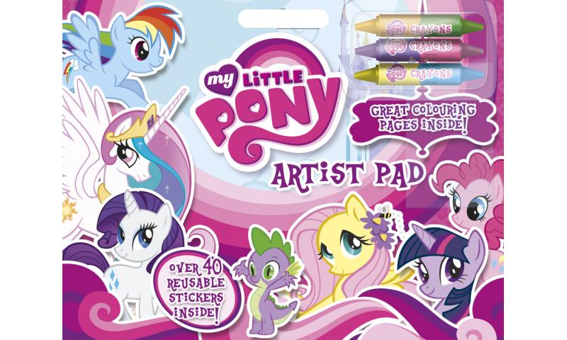 My Little Pony Artists Pad & Crayons  - Zero VAT