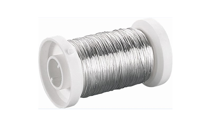 Heyda Silver Plated Wire .1mm x 4m