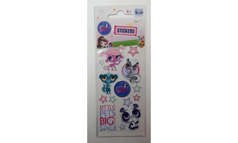 Starpak Littlest Pet Shop Sticker Sheet