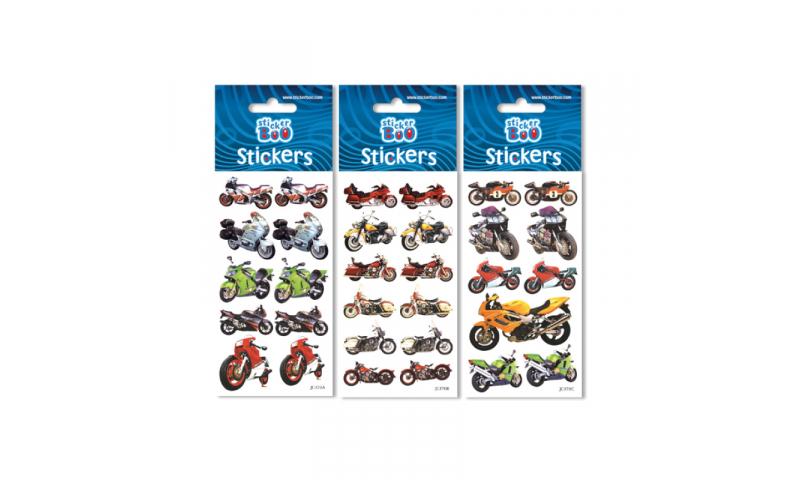Starpak Racing Motorbikes Sticker Sheet 3 Asstd