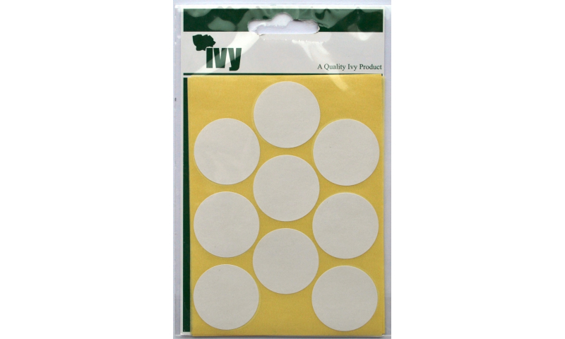 IVY White Circular Labels 63 per Pk 29mm