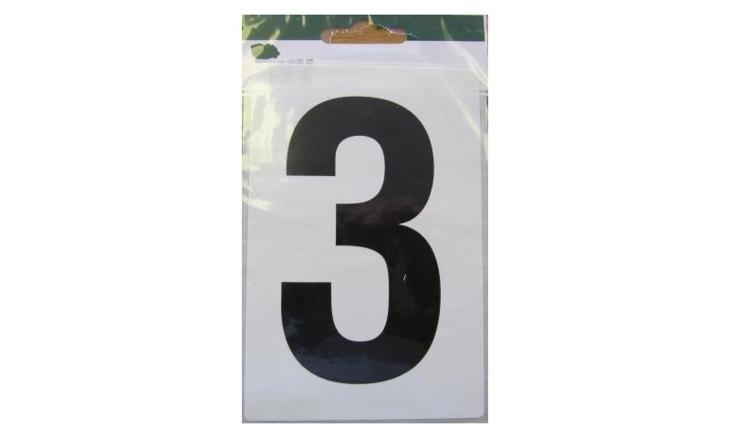 IVY Wheelie Bin Vinyl Labels Pk 1 - No. 3