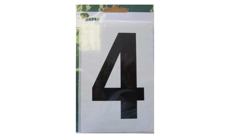 IVY Wheelie Bin Vinyl Labels Pk 1 - No. 4