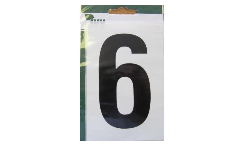 IVY Wheelie Bin Vinyl Labels Pk 1 - No. 6