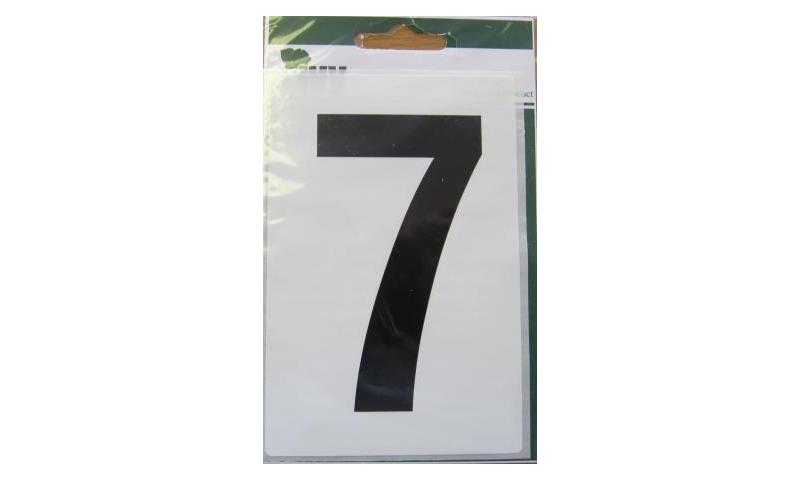 IVY Wheelie Bin Vinyl Labels Pk 1 - No. 7