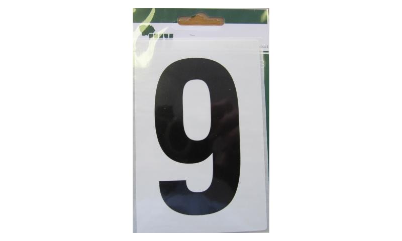 IVY Wheelie Bin Vinyl Labels Pk 1 - No. 9