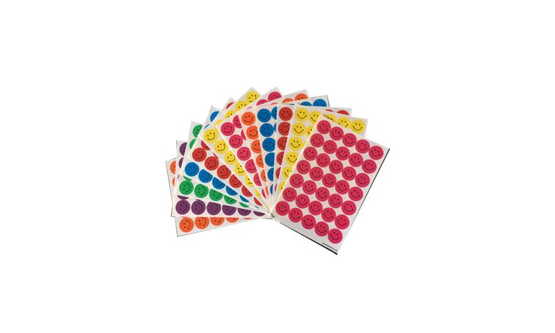 Ivy Jumbo Pack A5 Smiley Labels, 420 Asstd