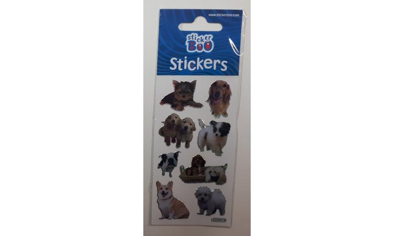 Starpak Dogs Foil Sticker Sheets, 3 Asstd