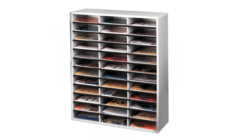 Fellowes 36 Compartment Literature Organiser. (New Lower Price for 2021)