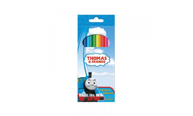 "Thomas Colouring Pencils 7"" Set of 12"