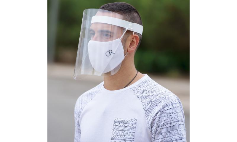 Adult Adjustable & Tiltable Face Shield