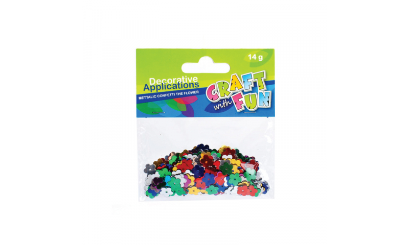 CRAFT with FUN SEQUINS FLOWERS 14G (New Lower Price for 2021)