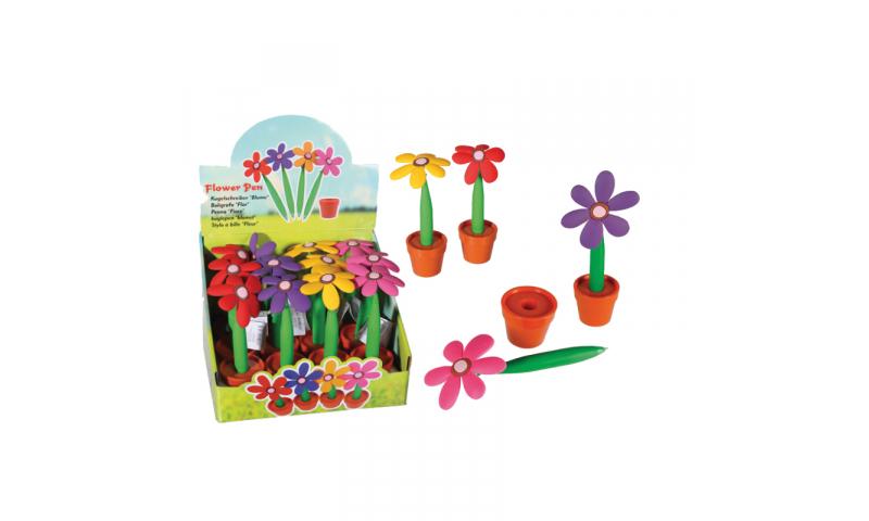 Novelty Flower Ballpen Deskset