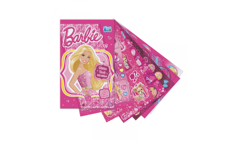 Starpak Barbie Sticker Book 6 Pages 125 Stickers (297436)