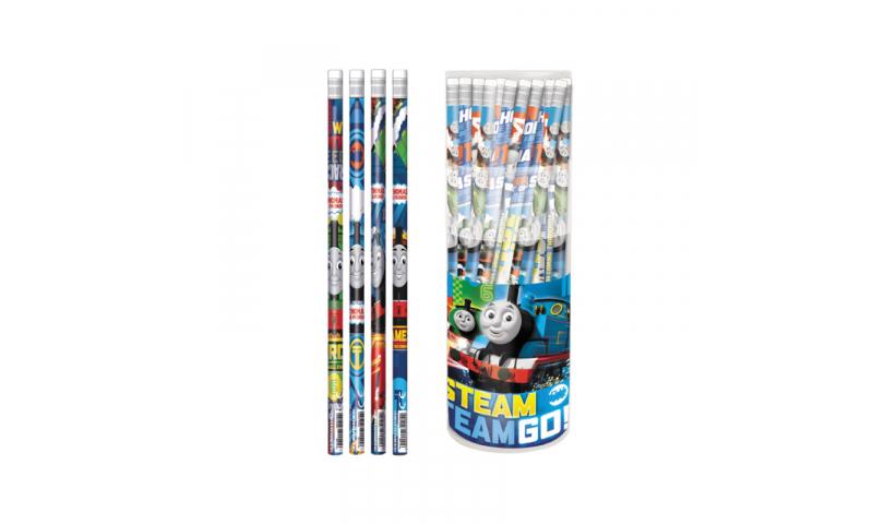 Thomas Pencil with Eraser Asstd