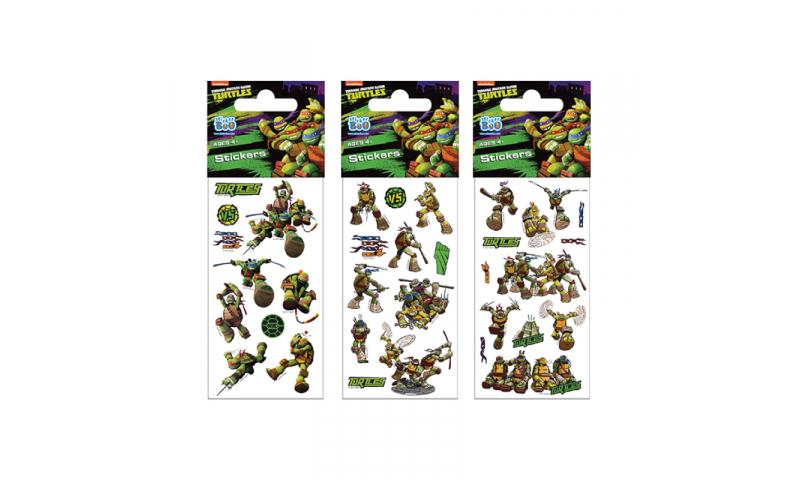 Starpak Ninja Turtles Sticker Sheet 3 Asstd