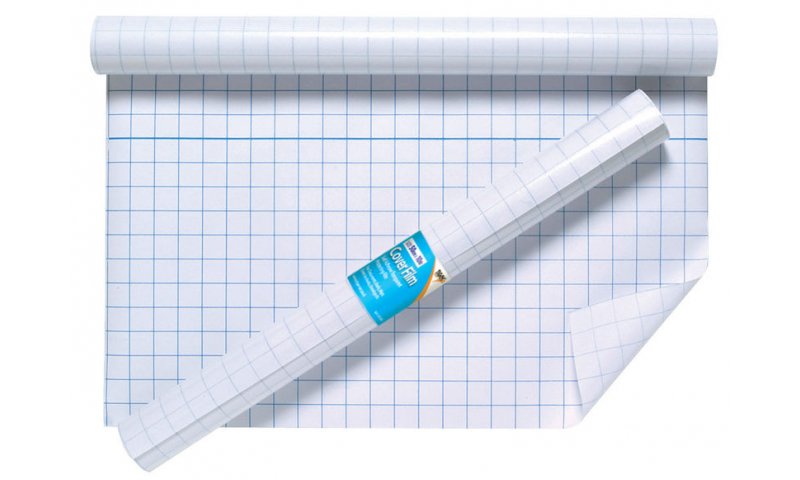 Tiger Book Covering Film Roll, clear, Acid Free, Repositionable, 50cm x 10M.  (New Lower Price for 2021)