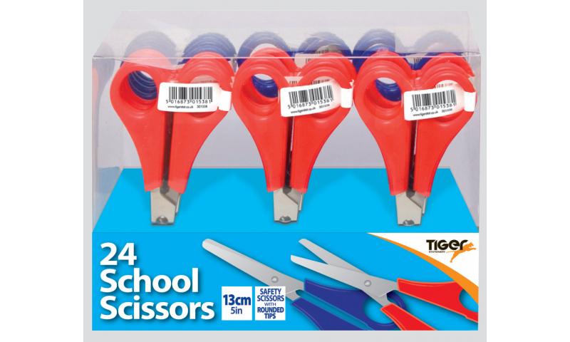 "Tiger 13cm/5"" School Scissors."