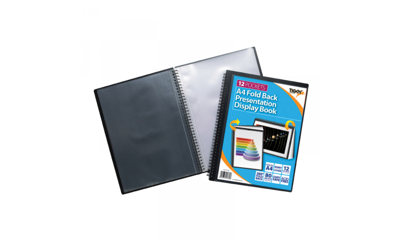 Tiger ECO A2 10 Pocket Presentation Display Book. (New Lower price for 2021)