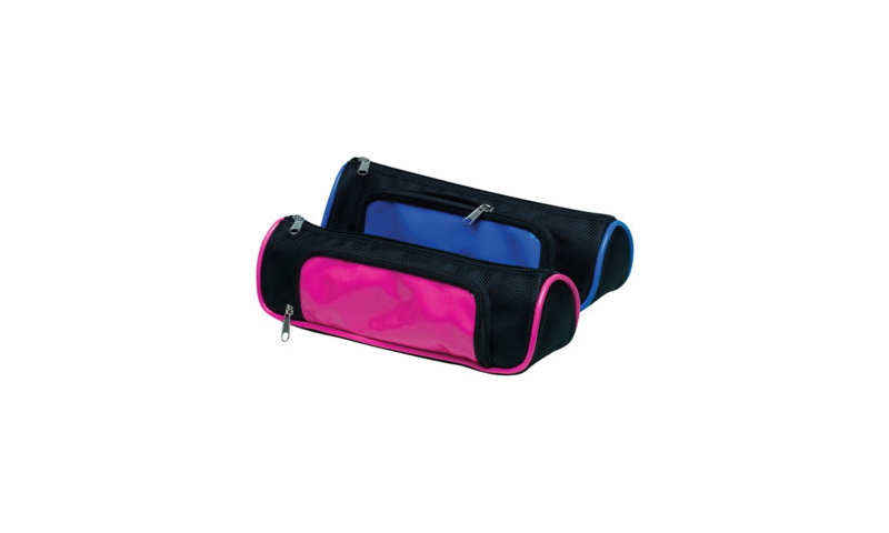 Tiger Neon Wedge 2 Tone Pencil Case, 2 Asstd (New Lower Price for 2021)