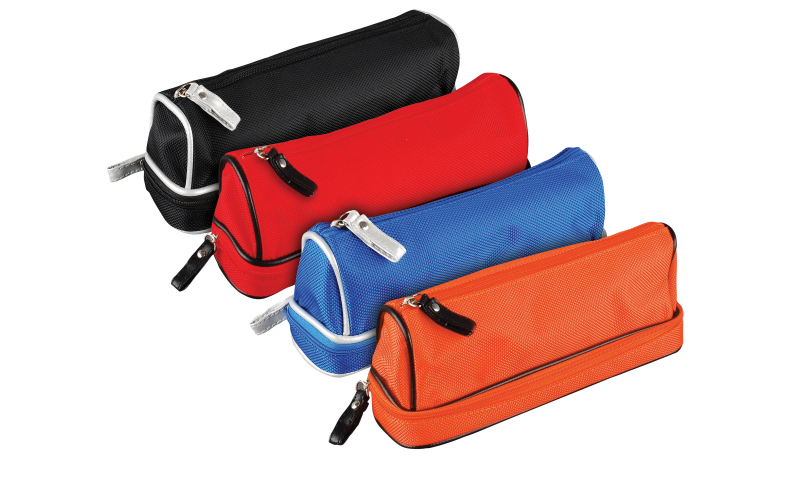 Tiger Dome Double Zip Pencil Case (New Lower Price for 2021)