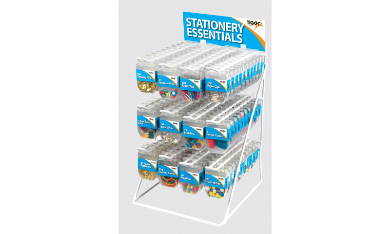 Tiger Essentials complete Display Stand, 120 Pieces