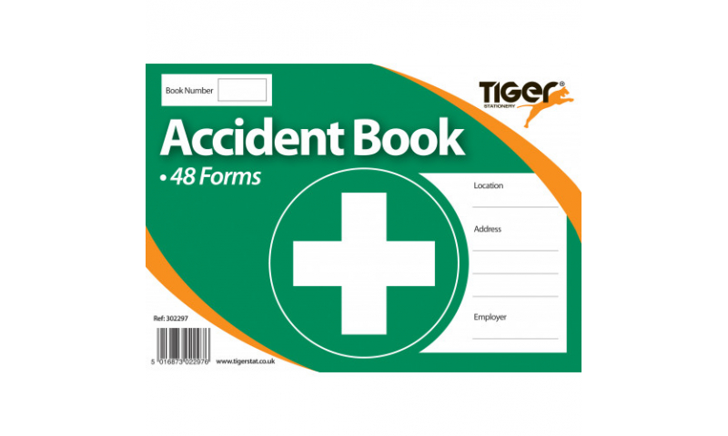 Tiger Accident Record Book (48 forms)