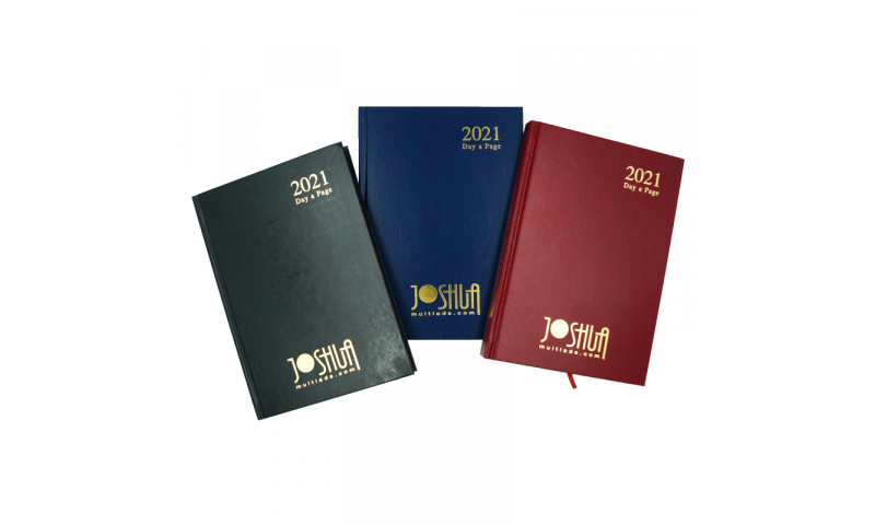 Casebound A5 Hardcover 2022 Day to Page, Printed Diary