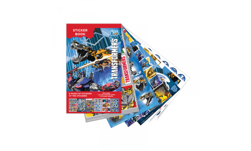 Starpak Transformers Sticker Book 6 Pages, 117 Sheets
