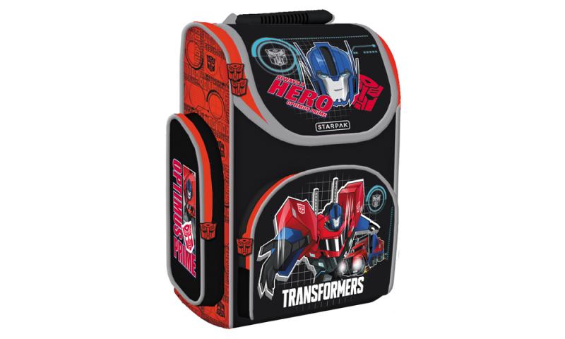 Transformers Hard Bag Schoolbag, 2 asstd, 37x27x15cm. (New Lower Price for 2021)