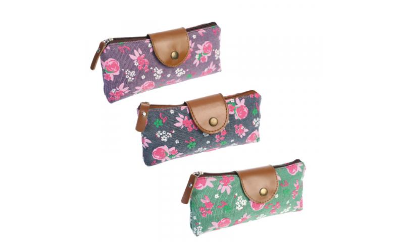 Starpak Girls Purse Style Pencil Case, 3 Asstd (NEW)