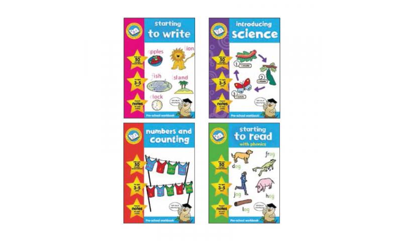 Childrens Books Beginners Learning Books 4 Asstd