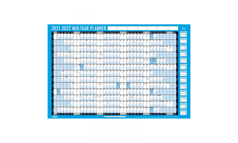 Large Academic Year Planner with Pen & Accessories  2021/22 (Special Offer)