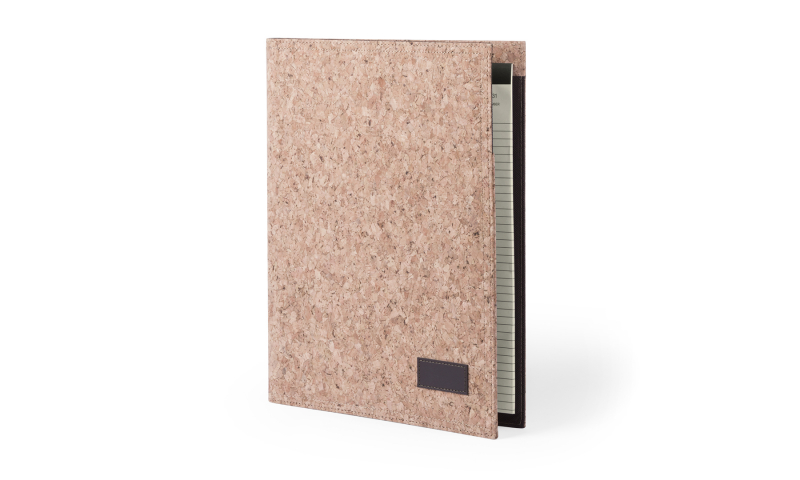 Santini Conference Folder Natural Cork Exterior Finish A4