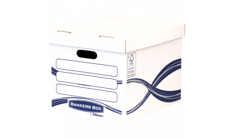 Fellowes Basic Standard Storage Box, 100% Recycled (New Lower Price for 2021)