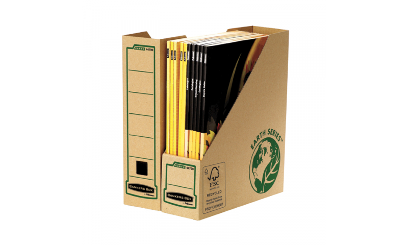 Fellowes Earth Series Magazine Files, 100% Recycled (New Lower Price for 2021)