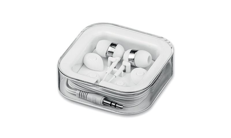 Branded Earphone Set MULTIBUD in Presentation Box