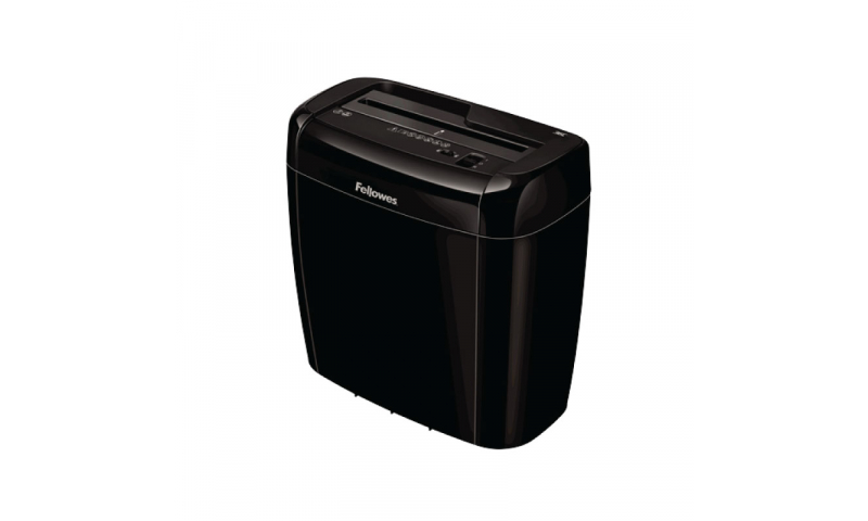 Fellowes 36C, 6 Sheet High Security 4x40mm Personal Shredder, 12L Top off Bin (New Lower Price for 2021)