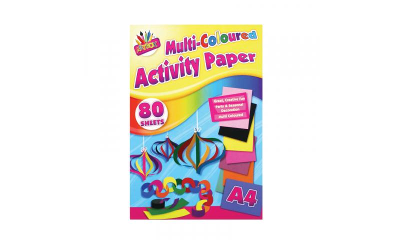 ArtBox A4 Multi Colour Activity Paper - 100 sheets