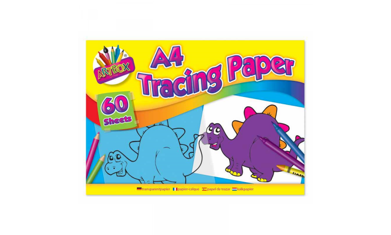 ArtBox Craft Tracing Paper, A4, 60 sheet pad. OUT OF STOCK