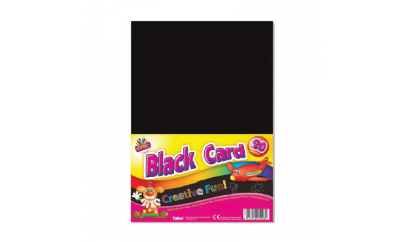 ArtBox A4 Black Activity Card 15 Pack