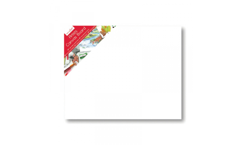 """ArtBox Unframed Canvas Board 20 x16"""" - 50x40cm (New Lower Price for 2021)"""
